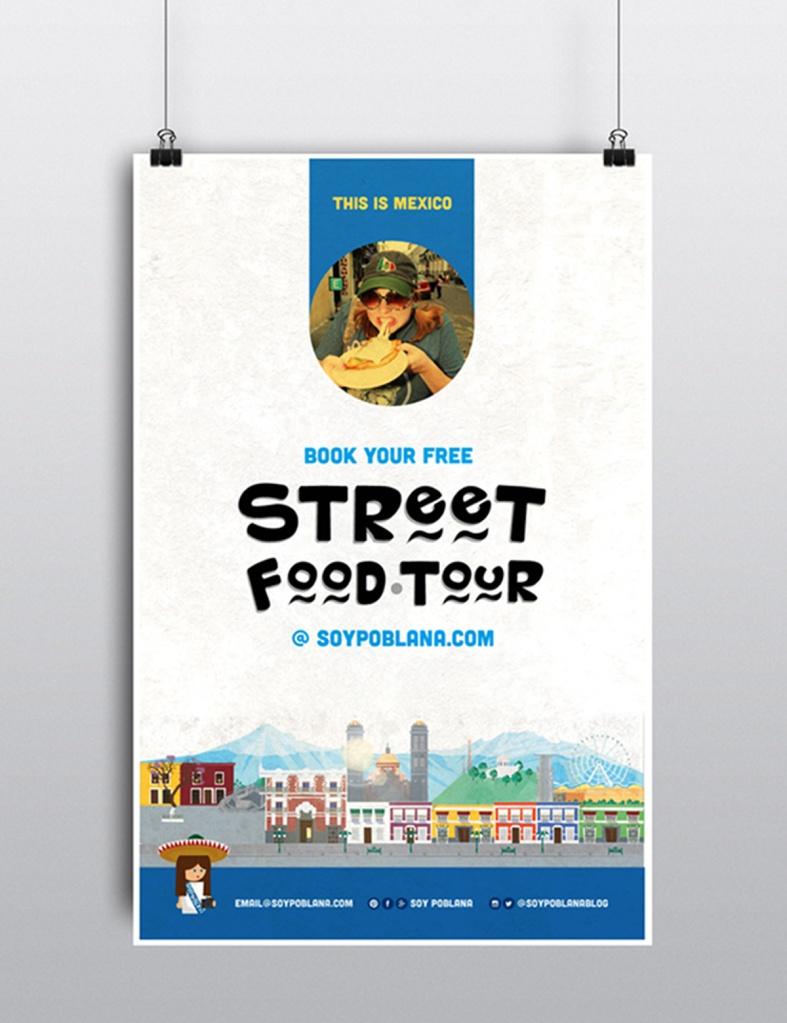 diseno-de-poster-street-food-tour-soy-poblana-por-ojo-terzo